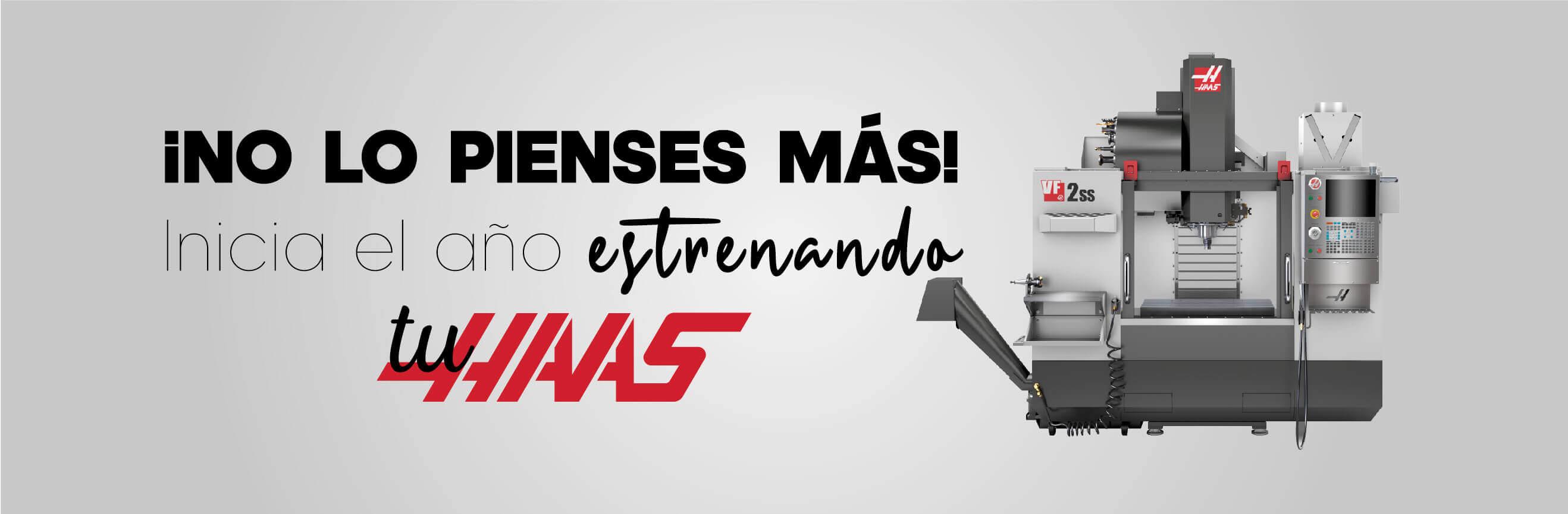 Promocion enero Haas Mexico